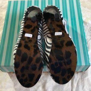 Ellie Shoes - Ellie Platform stiletto shoes zebra pumps